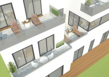 Exklusiver Familientraum! Sonniges 4-Zimmer Reihenhaus mit Garten+Terrasse+Keller+Garage
