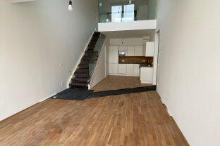 MIETKAUF: Galeriewohnung mit 3 Zimmern, Terrasse und Loggia