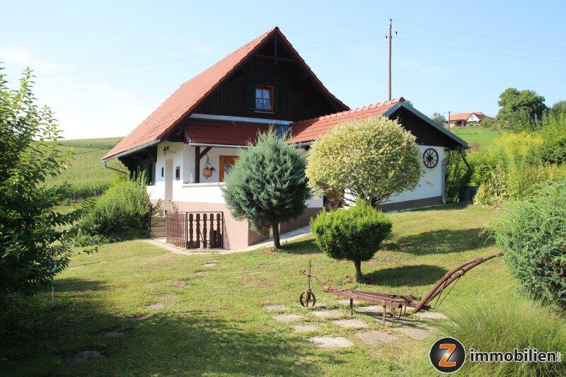 Einzigartige Ruhelage in der Südsteiermark - Landhaus, Fischteiche, Wald und Wiese