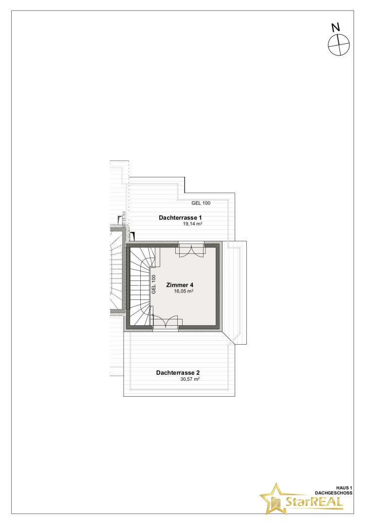 DACHGESCHOSS  Haus 1