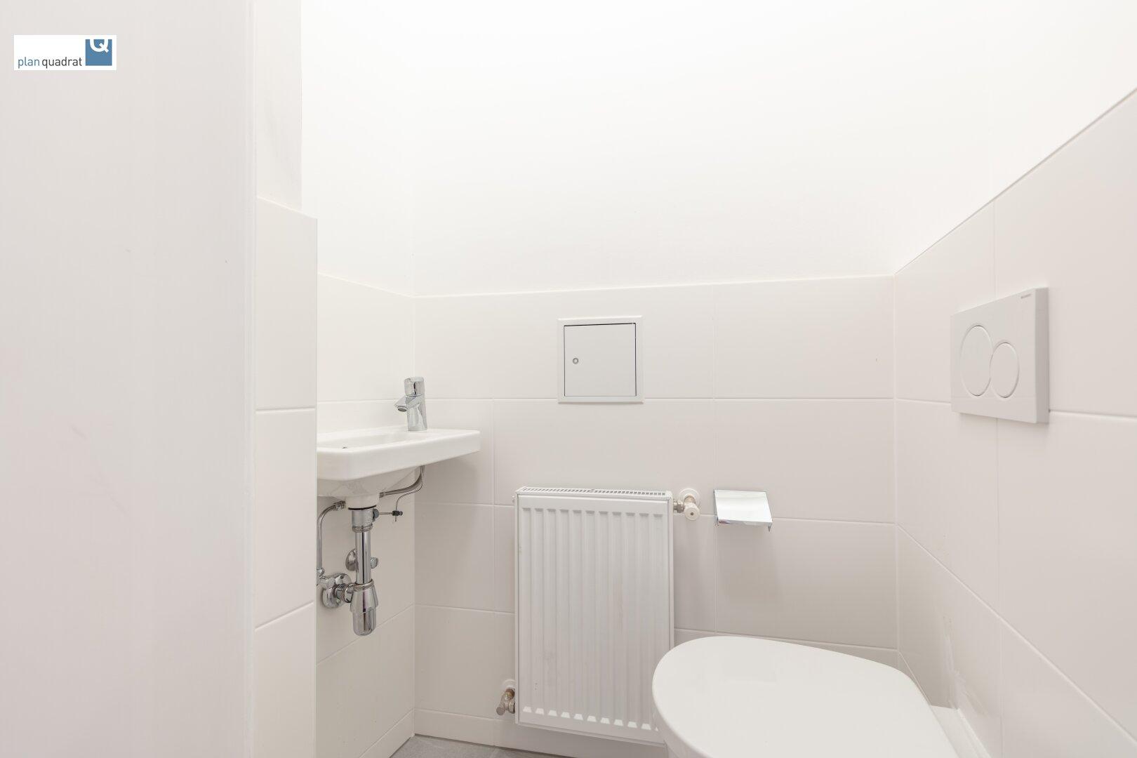 Toilette (neben Badezimmer - gem. Grundrissskizze)