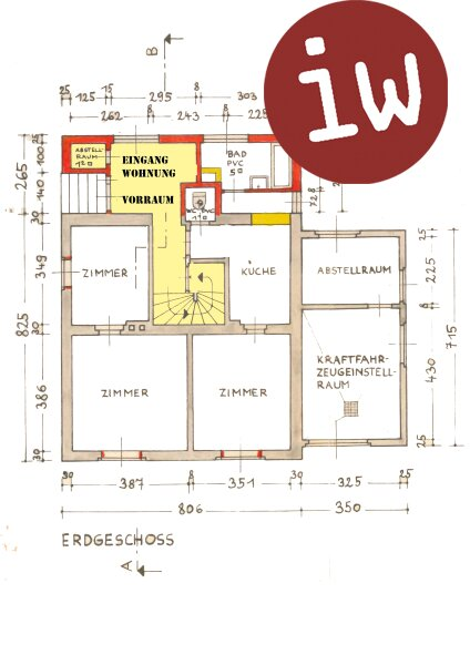 Topsanierte 4-Zimmer Mietwohnung im Martinsviertel Objekt_665 Bild_157