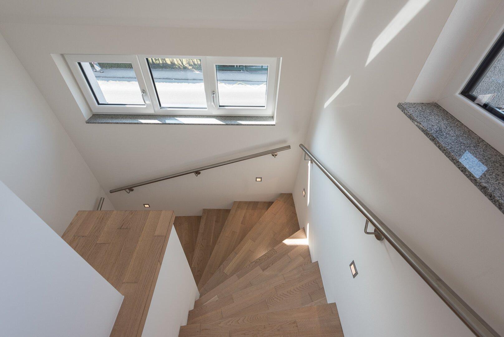 Stiegenabgang-Penthouse