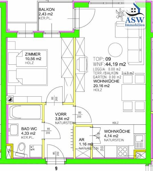 Stilvolle 2-Zimmerwohnung mit Balkon Nähe Westbahnhof! /  / 1150Wien / Bild 8
