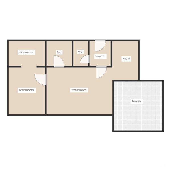 moderne Neubauwohnung mit großer Terrasse und Garage /  / 1120Wien / Bild 6