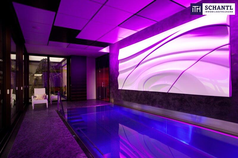 PHÄNOMENAL, EINZIGARTIG, ATEMBERAUBEND - Designer LUXUS-Penthouse mit Panoramablick + Riesige Terrassen + Indoor Pool + Sauna + Kamin + Ruhelage + drei tw. überbreite Tiefgaragenplätze uvm. in Graz! /  / 8045Graz-Andritz / Bild 3
