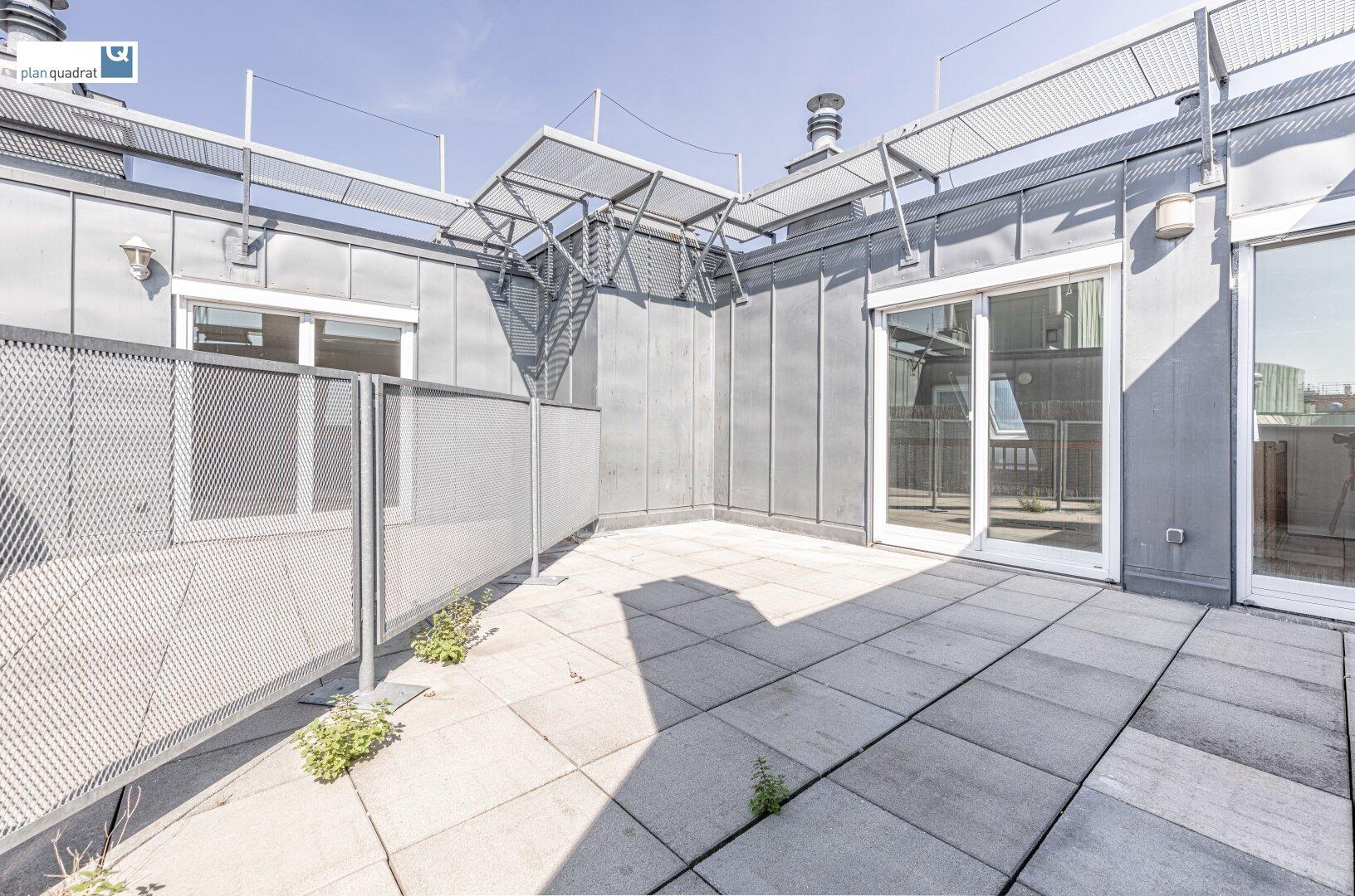 Terrasse (ca. 20,80 m²)