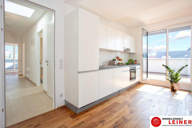 100 m² PENTHOUSE *UNBEFRISTET*Schwechat - 3 Zimmer Penthouse im Erstbezug mit 54 m² großer südseitiger Terrasse Objekt_9215 Bild_610