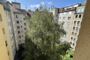 Ruhige, hofseitig gelegene 2 Zimmer Wohnung, 5. Stock, Lift, nähe Hauptbahnhof