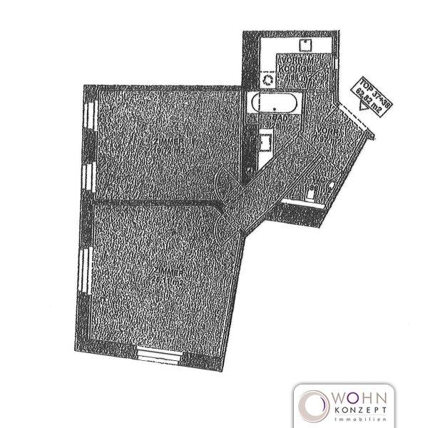 Unbefristeter 63m² Altbau mit Einbauküche! /  / 1150Wien / Bild 1
