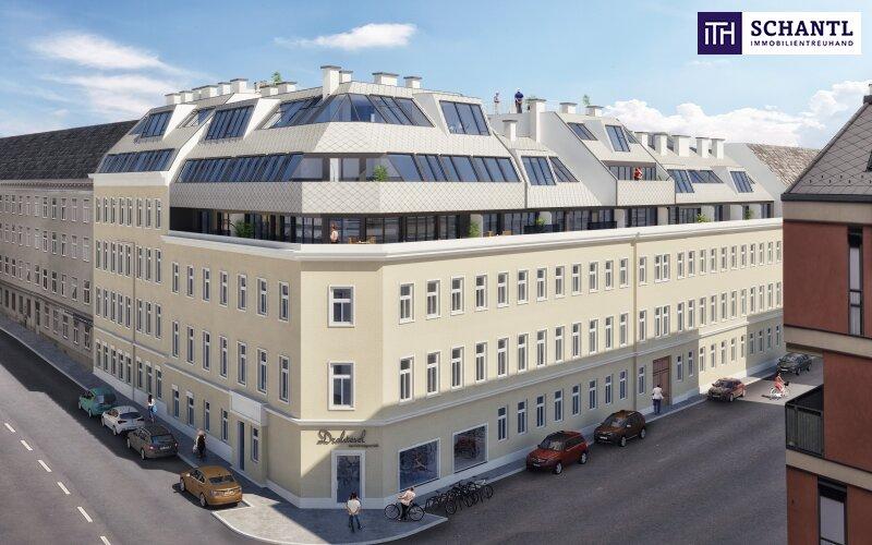 Ihre Wohnungssuche endet HIER! Neue Dachgeschoss-Wohnung mit 3 Terrassen + perfekte Raumaufteilung + Parkplatzmöglichkeit! /  / 1150Wien / Bild 3