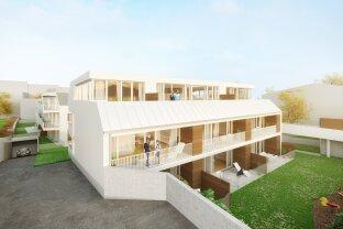 Wohnen im Villenviertel | 4 Zimmer Wohnung mit Terrasse (DG) | Hügelgasse | Fertigstellung April 2020