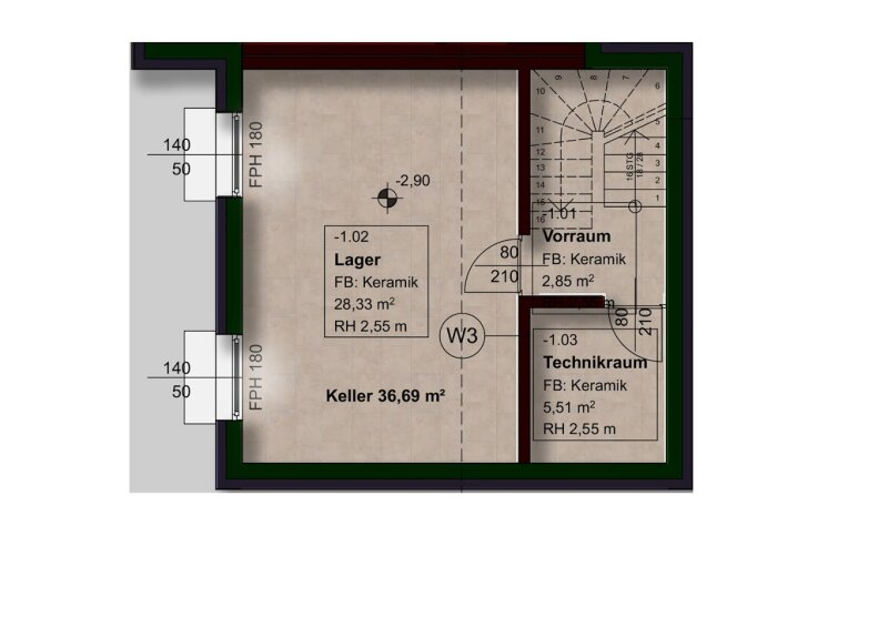 Schicke Doppelhaushälfte mit weitläufigem Garten in vortrefflicher Lage, nur 3 Min zur S-Bahn Silberwald! /  / 2231Strasshof an der Nordbahn / Bild 9
