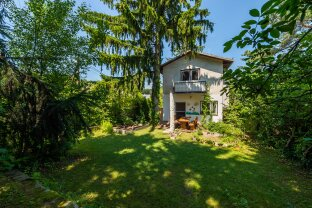 500m² Grundstück samt 5 Zi.-Einfamilienhaus in absoluter Grünruhelage (derzeit vermietet)!