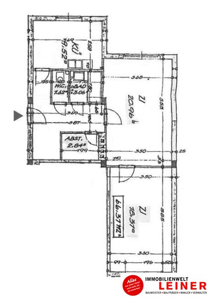 Schwechat - 2 Zimmer Eigentumswohnung Erstbezug nach Renovierung Objekt_11211 Bild_211