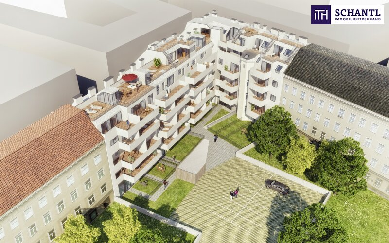 Großer Eigengarten! Perfekt aufgeteilte und top sanierte Altbauwohnung im Viktoriahof! Jetzt zugreifen!