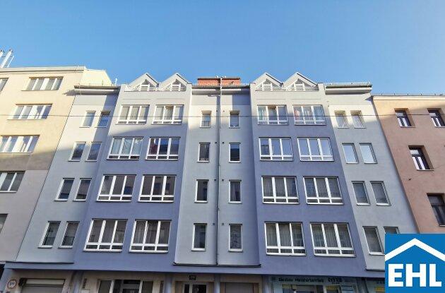Nähe SMZ-Süd: 2-Zimmerwohnung mit Küche