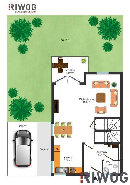 Wohnhit Doppelhaus! - 4 Zimmer, voll unterkellert /  / 2230Gänserndorf / Bild 5