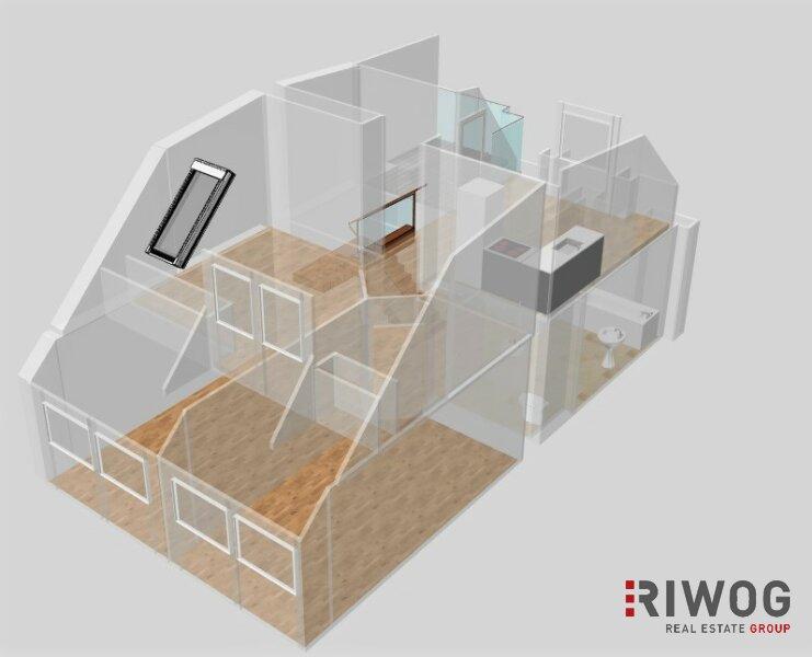 Alle unter einem DACH   Dachgeschosswohnung auf zwei Ebenen mit Weitblick   exklusiver ERSTBEZUG /  / 1050Wien / Bild 0