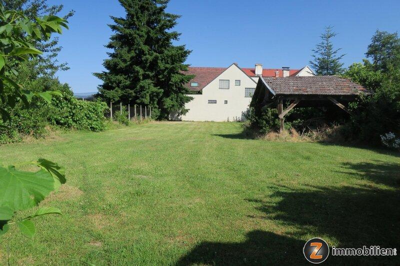 Attraktiver Baugrund mit Altbestand im lebenswerten Lackenbach