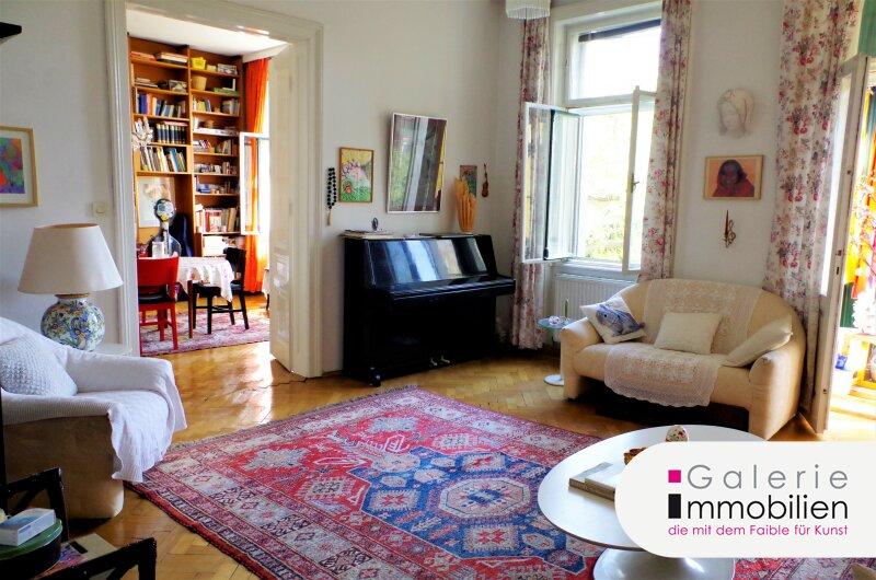 Rarität - Maisonette mit großer Terrasse und Fernblick in traumhaftem Stilaltbau Objekt_33502