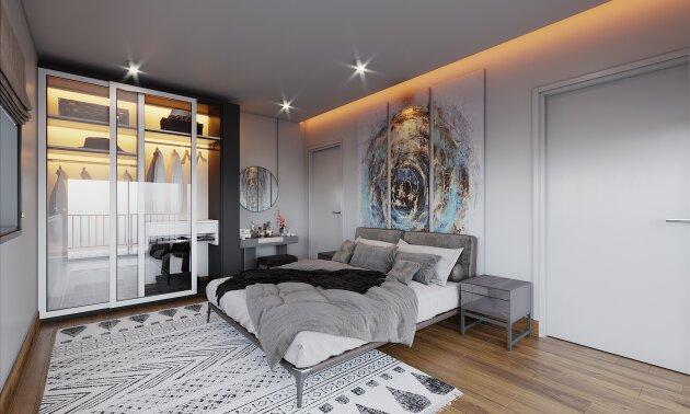 Foto von Charmante 2-Zimmer Neubauwohnung inkl. südseitigen Balkon U1 Leopoldau (Kurzzeitvermietung möglich)