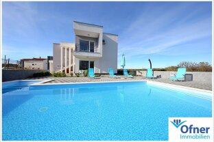 Sandstrand, Meer und Sonnenuntergänge: gut vermietbare Villa in Zaton