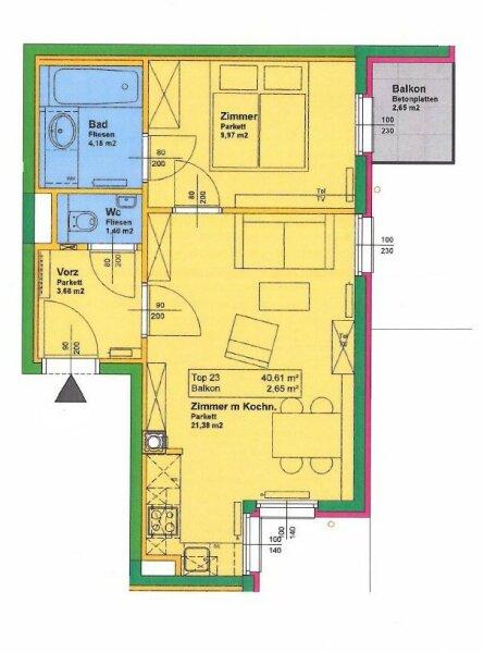 Helle, moderne Wohnung in bester Lage des 3. Bezirks verfügbar ab 01.01.18 /  / 1030Wien / Bild 0
