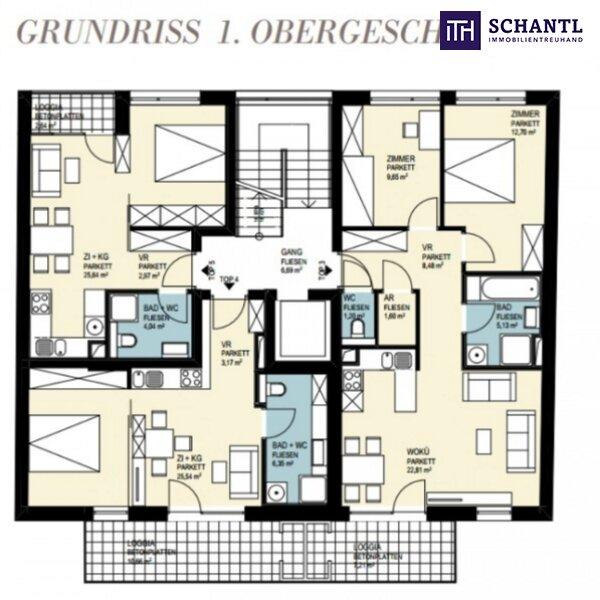 JETZT ZUGREIFEN: Liebevolle, perfekte Single-Wohnung mit Loggia in 8020 Graz! /  / 8020Graz / Bild 5