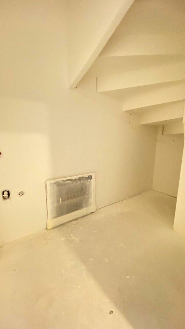 Abstellraum unter Treppe