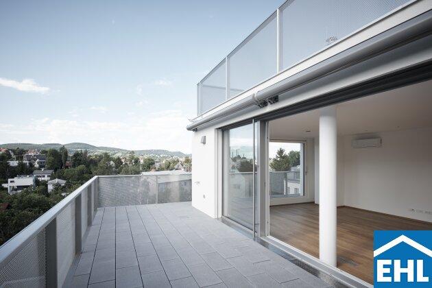 Luxus Penthouse in Gersthofer Grünruhelage - Dachgeschoss