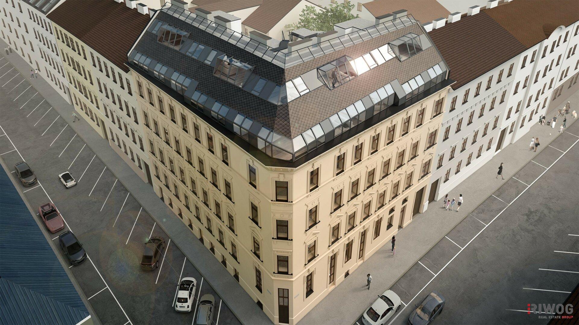 SIXTY 7 - exklusive Dachgeschoss-Wohnungen mit hochwertiger Ausstattung (Projektansicht)