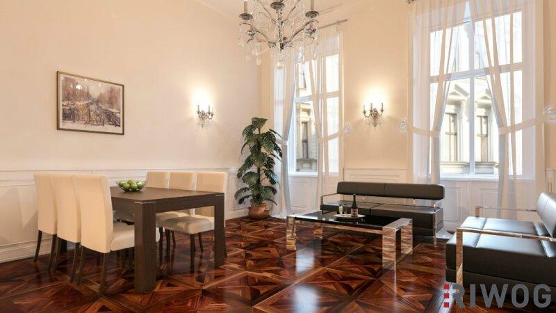 Luxuriös und elegant - 2-Zimmer Wohnung - Renaissancehaus in Innenstadtlage