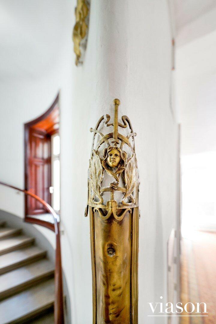 Kantenschutz Stiegenhausdetail