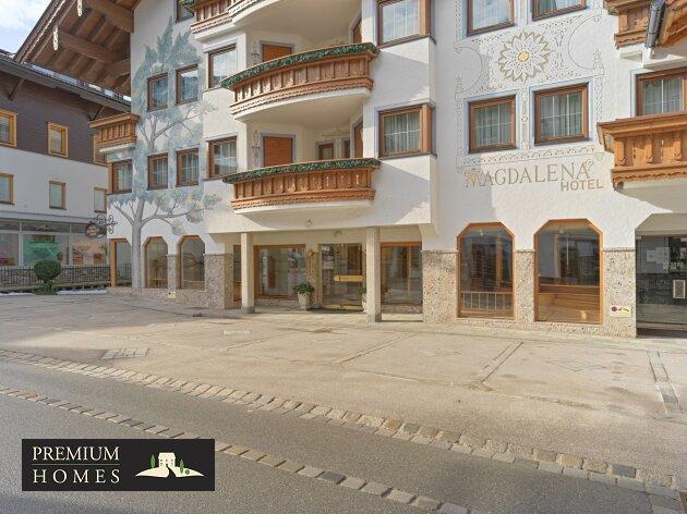 MAYRHOFEN im Zillertal - Verkaufsfläche/Geschäftsfläche in Zentrumslage-Hausansicht