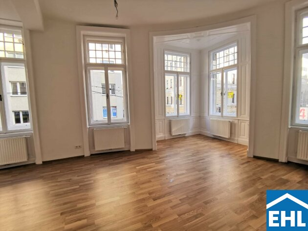 ERSTBEZUG nach Sanierung - gut geschnittene 3 Zimmerwohnung in Bestlage