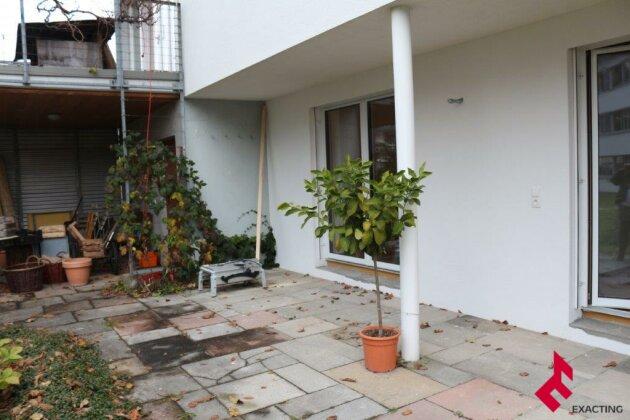 2-Zi.-Erdgeschoss-Wohnung mit Terrasse