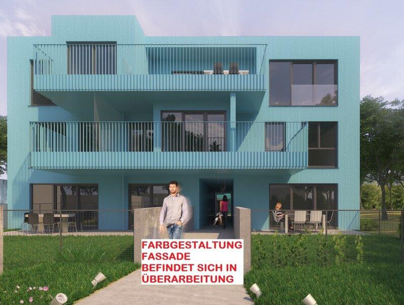 Sehr ruhige 3 Zimmergartenwohnung mit 2 Terrassen, gut geschnitten, Neubau Erstbezug, provisionsfrei! /  / 1230Wien / Bild 1