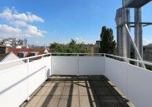 Moderne Terrassen Maisonette