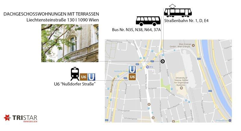 PROVISIONSFREI I Jetzt Vormerken I Eigentumswohnungen mit Terrassen I Liechtensteinstraße 130 I 1090 Wien /  / 1090Wien / Bild 1