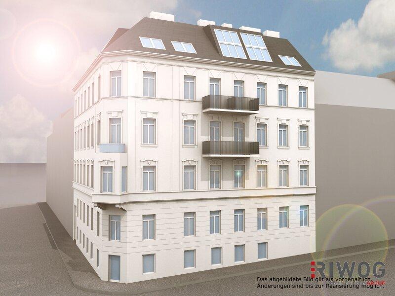 Topsanierte Balkonwohnung im klassischen Stilaltbau - ERSTBEZUG