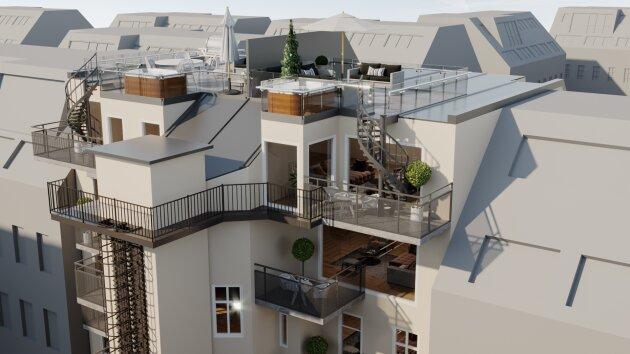 Foto von *WOW* NEUBAU 3-Zimmer Dachgeschosswohnung beim AKH mit Balkon!!