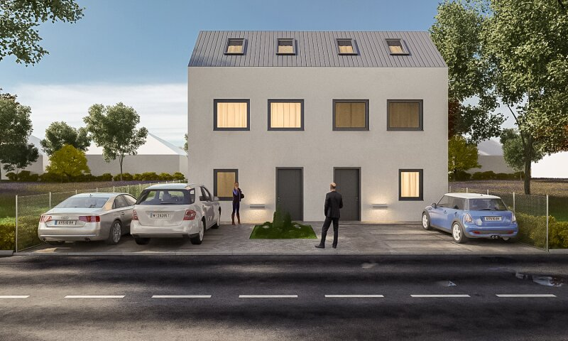 Erstbezug: herrliches, lichtverwöhntes Doppelhaus auf 3 Ebenen - 2 Min. nach Wien /  / 2301Groß-Enzersdorf / Bild 5