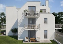 Perfekt aufgeteilte Familien-Wohnung mit rd. 200 m² Eigengarten