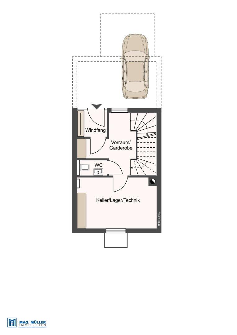 Eingangsebene - Untergeschoss