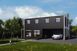 Modulhaus TOP 155+ mit Terrasse und Doppelstellplatz!