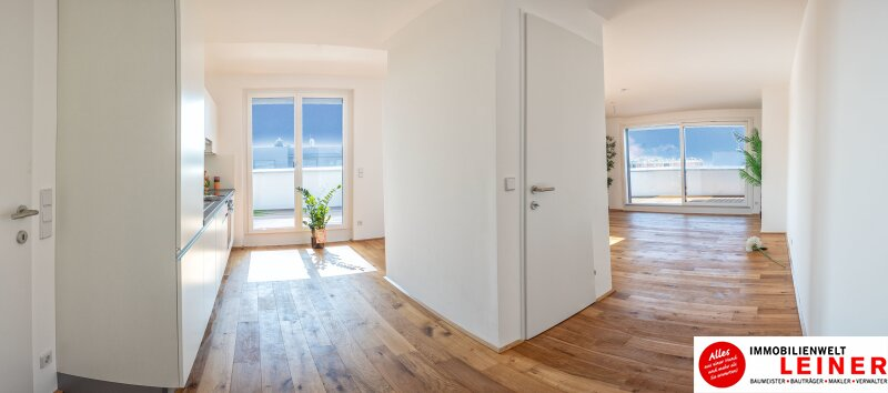 100 m² PENTHOUSE *UNBEFRISTET*Schwechat - 3 Zimmer Penthouse im Erstbezug mit 54 m² großer südseitiger Terrasse Objekt_9215 Bild_594