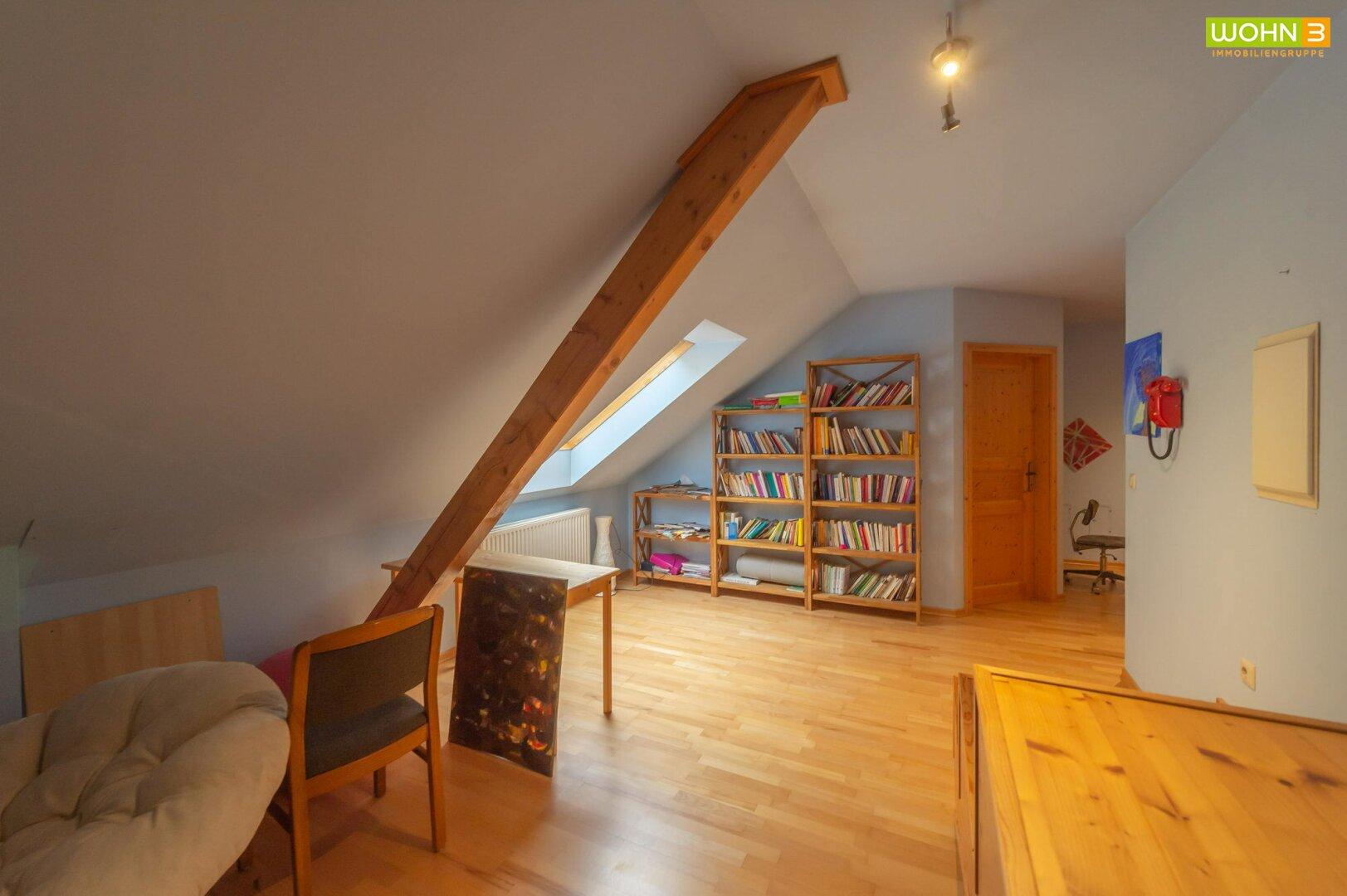Vorraum im Dachgeschoß