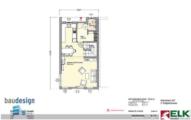 Königsbrunn - Neubau - modernes Einfamilienhaus auf Baurecht /  / 2202Königsbrunn / Bild 2