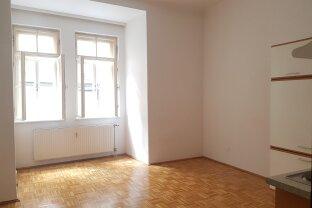 Kleine, feine Singlewohnung in der Linzer Altstadt, 38 m² WNFL, Küche möbliert, ruhig im Innenhof gelegen!